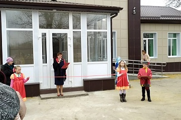 В с. Березовка открыли  отремонтированный Дом культуры