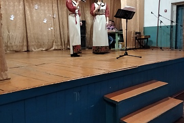 Крещенский вечерок в Верхнетишанском СДК