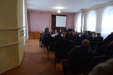 Отчетное собрание главы Березовского сельского поселения Воробьевского муниципального района