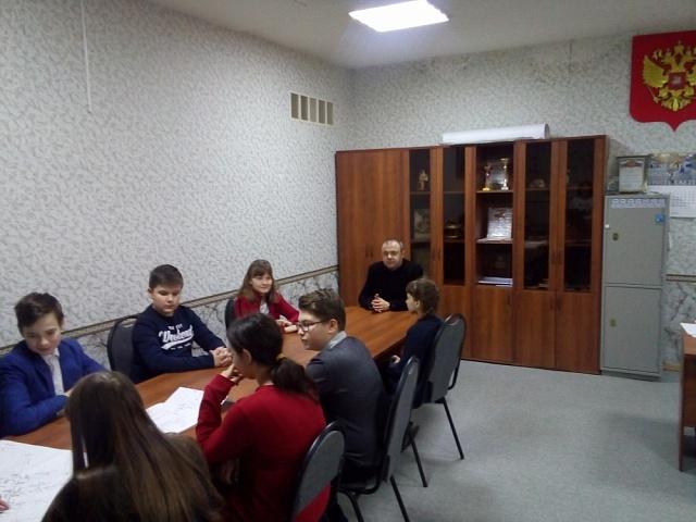 Встреча с молодежью в целях изучения проекта организации дорожного движения