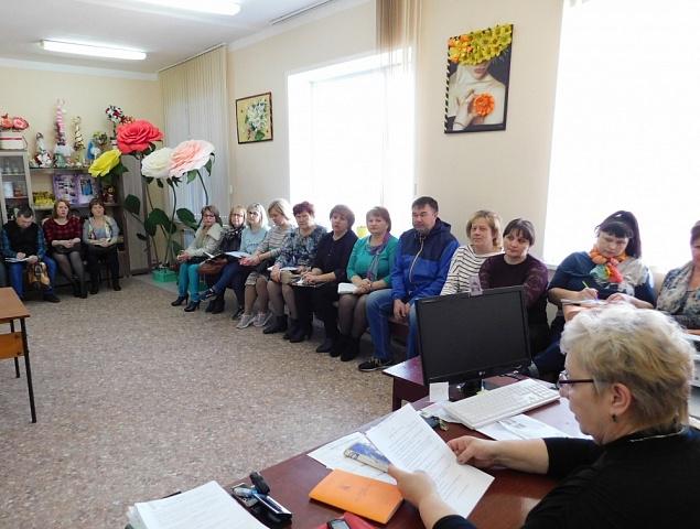 12 февраля в РДК состоялся районный семинар работников культуры
