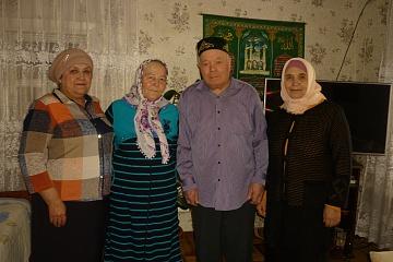 Поздравление золотых юбиляров Тазетдиновых