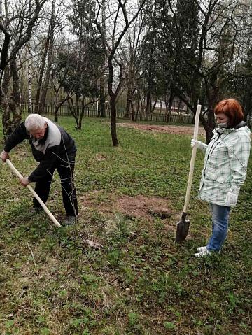 Администрация Никольского сельского поселения присоединялась к международной акции «Сад памяти».