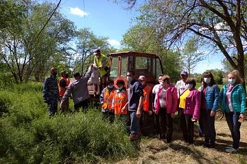 Участие в проекте «Сохранения уникальных водных объектов»