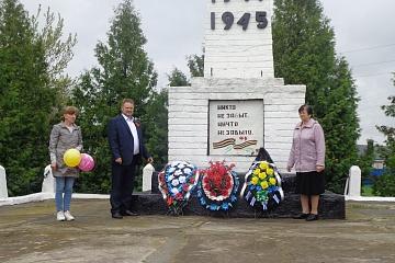 Мероприятие, посвященное годовщине Победы в Великой Отечественной войне