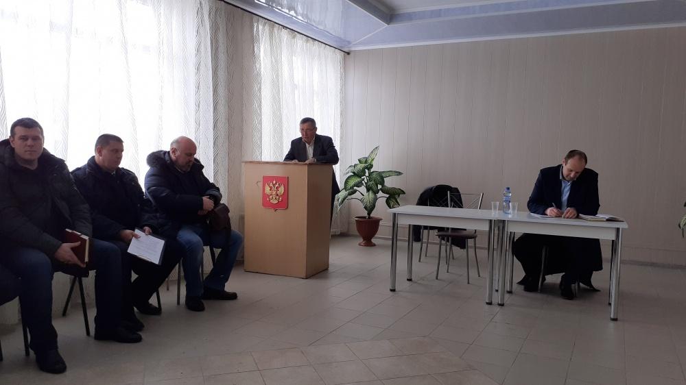 Отчет главы Россыпнянского сельского поселения за 2019 год