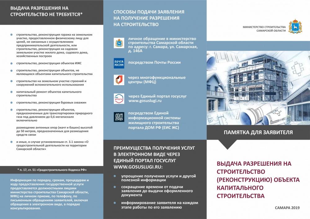Получение разрешения на строительство (реконструкцию) объекта капитального строительства