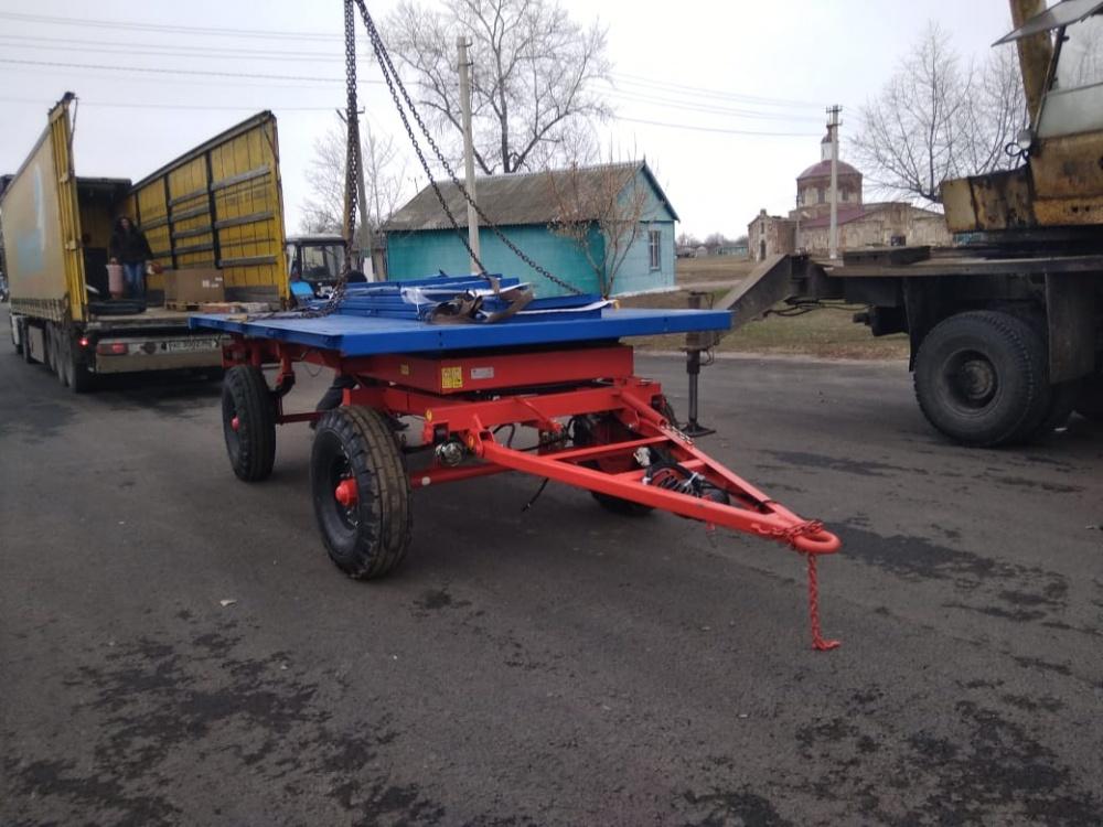 Приобретены косилка и тракторный прицеп