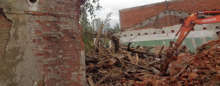 Об отходах производства и потребления при  демонтаже зданий,  строений и сооружений