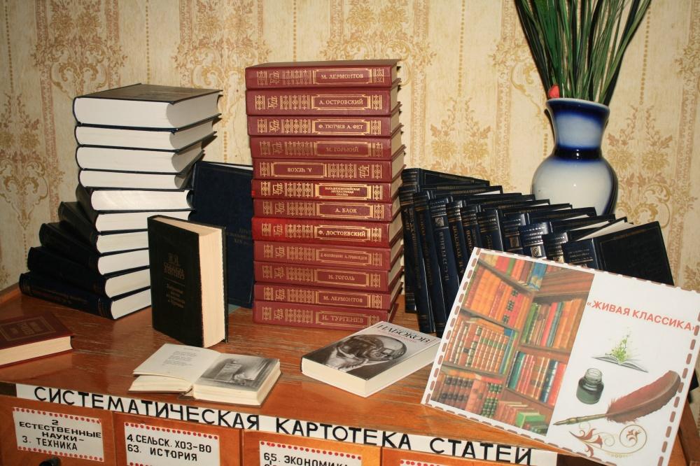 Час  литературной  классики  «Золотые  страницы  классики»