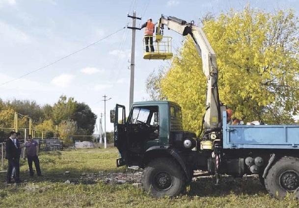 В  Терновке установят 870 фонарей