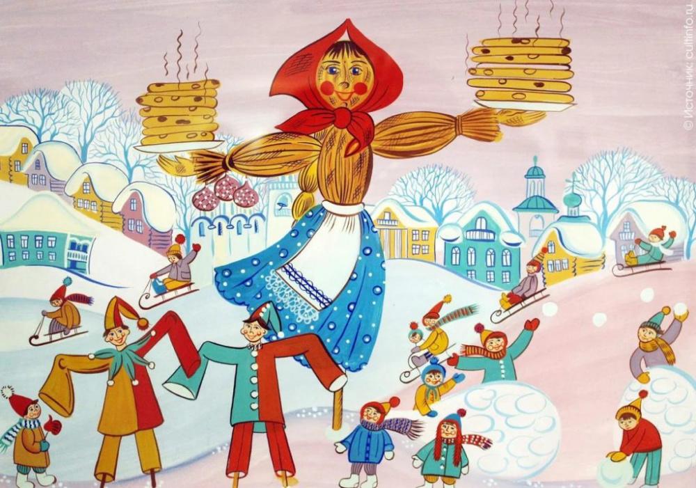 12  марта   в Вознесеновском СДК прошло праздничное гуляние «Широкая Масленица».