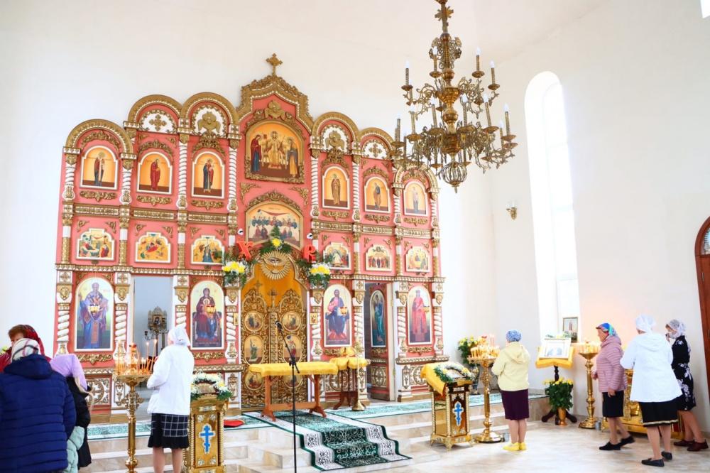 3 октября в ст. Новониколаевской состоялось освящение построенного храма апостола Иоанна Богослова