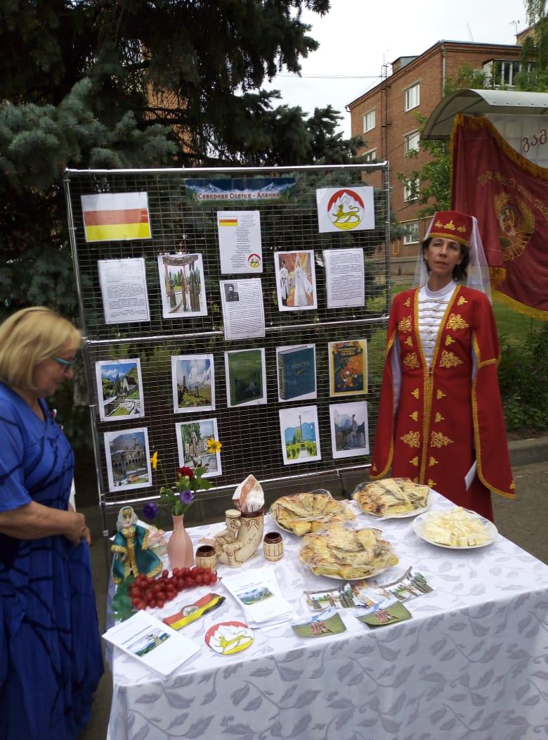 12 июня в ст.Кущевской прошел праздник, посвященный Дню России.