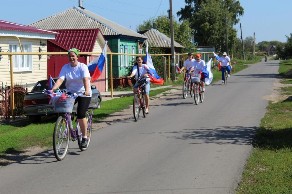Велопробег посвященный Дню Государственного флага России