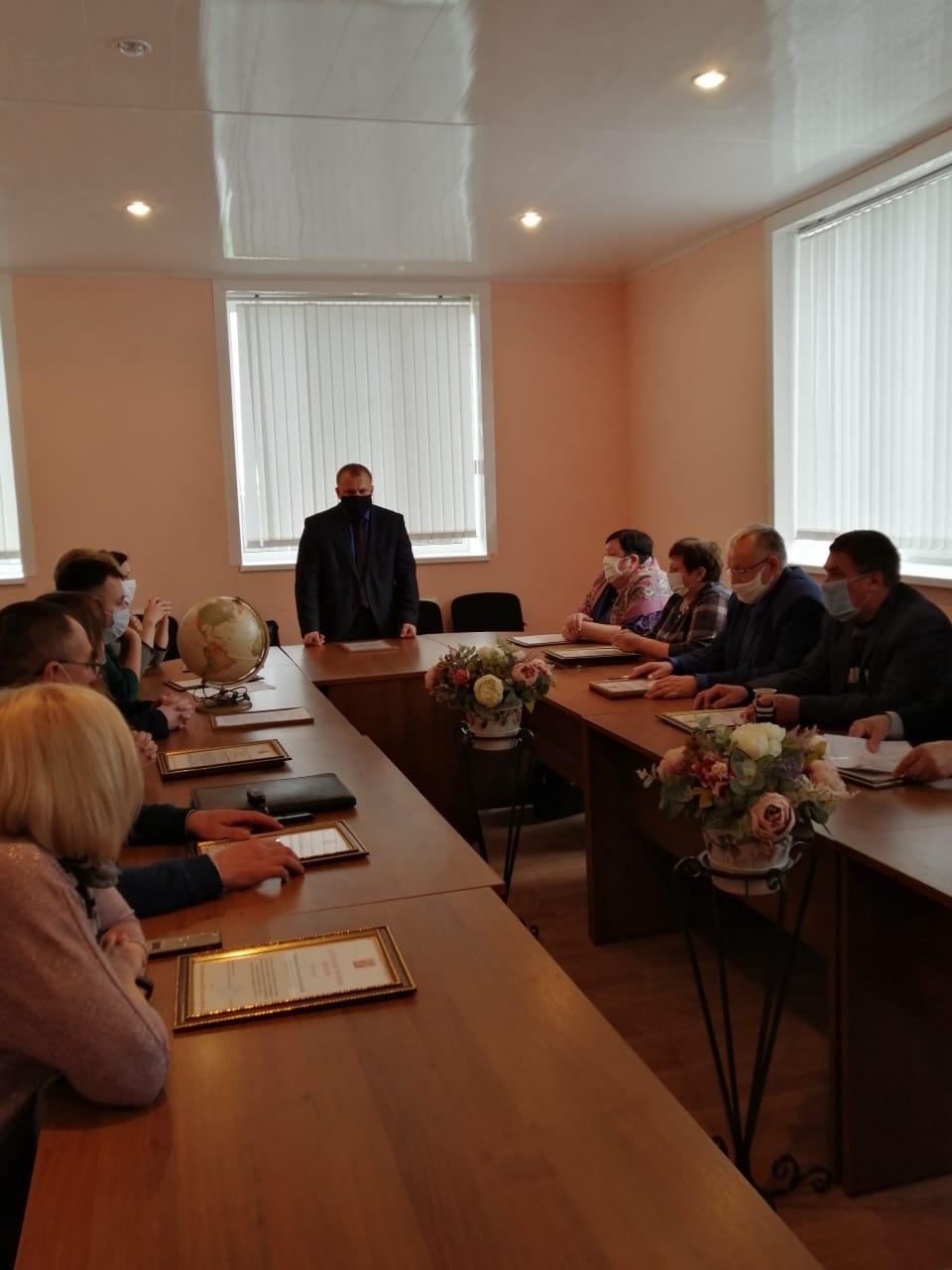 Павел Чибисов поздравил глав сельских поселений с Днем местного самоуправления