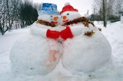 Объявляется конкурс среди населения и организаций на самую лучшую снежную фигуру