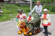 Парад-дефиле детских колясок