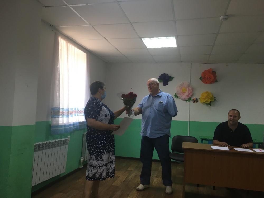 7 августа 2020  года  прошла  встреча главы администрации района А.И. Пономарева с жителями  села Каменно-Верховка