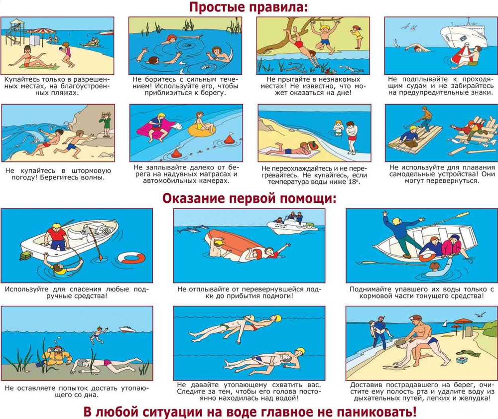 Безопасность на водоёмах