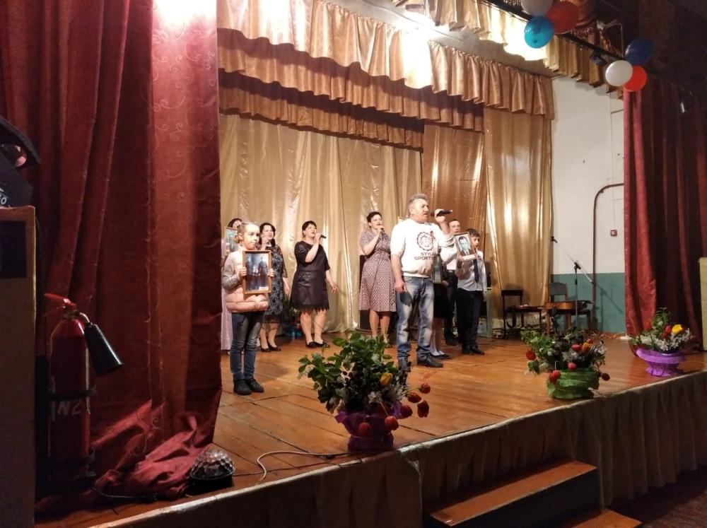 В Верхнетишанском СДК состоялся праздничный концерт, посвященный ко дню 9 мая!