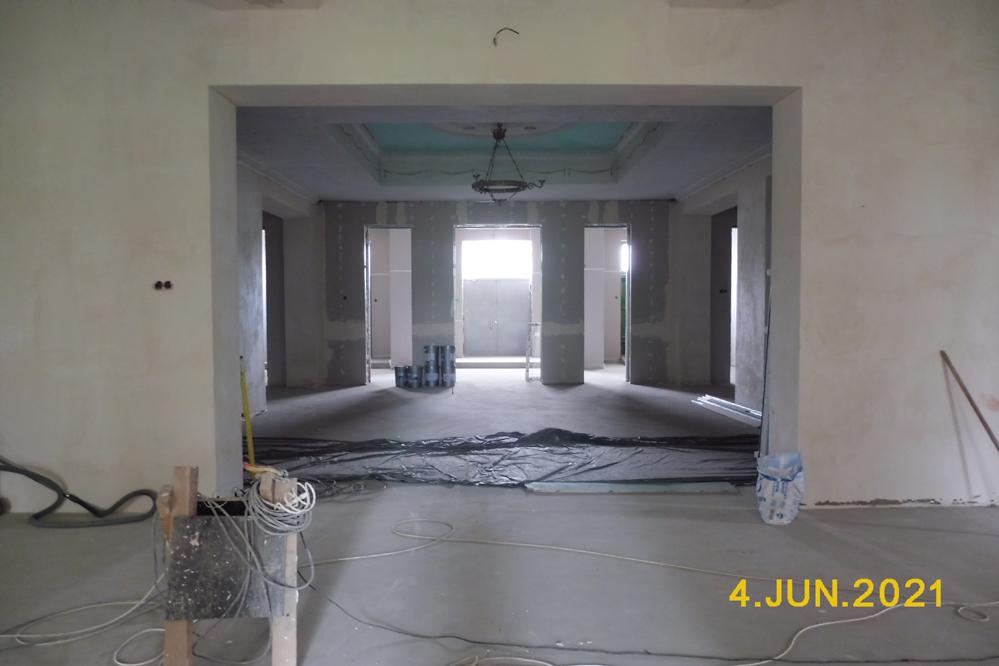 Ремонт Петровского Дома культуры - 4 июня 2021 года