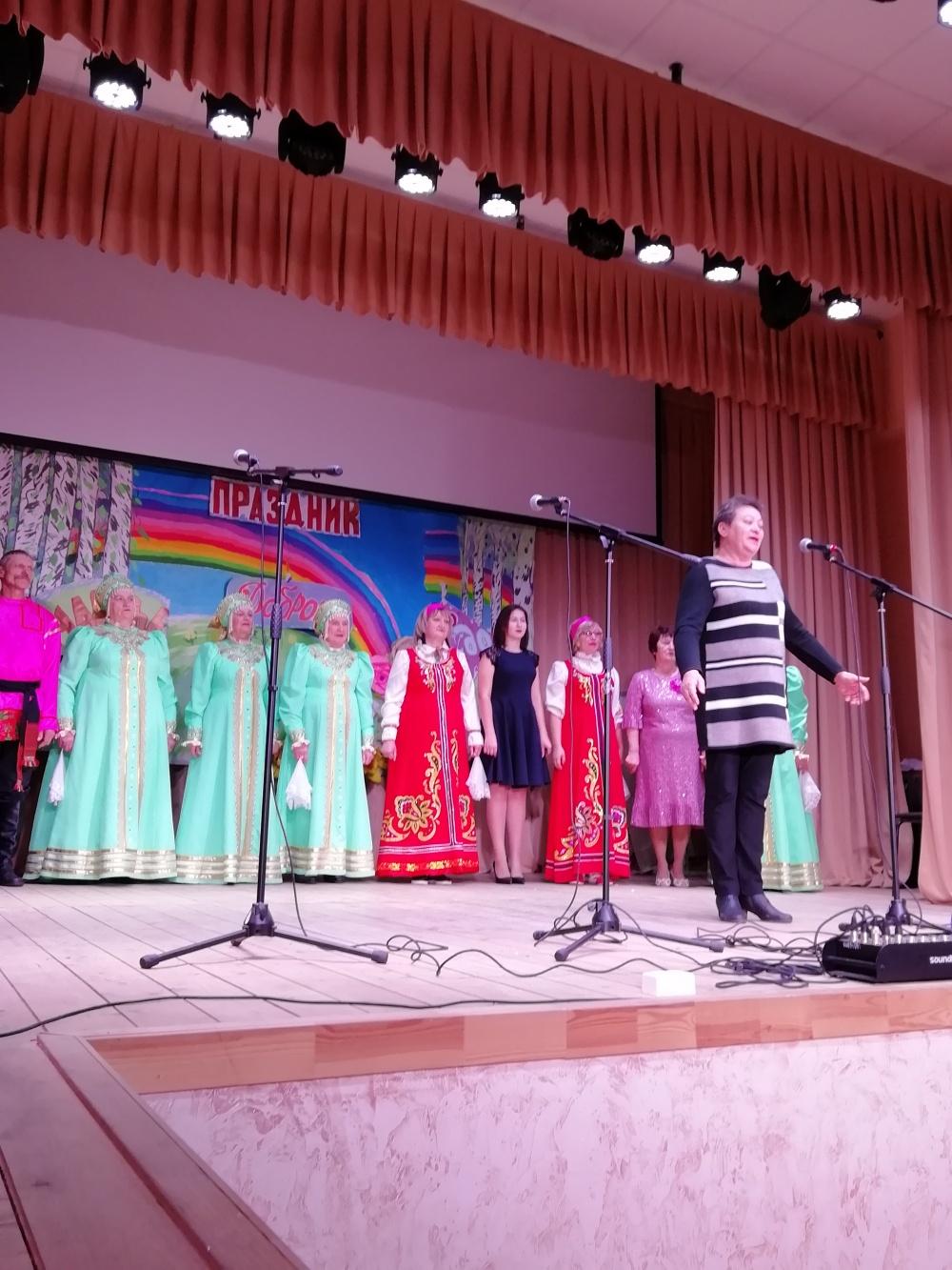 23.11.2019 г. в Верхнетуровском СДК состоялся отчетный концерт.