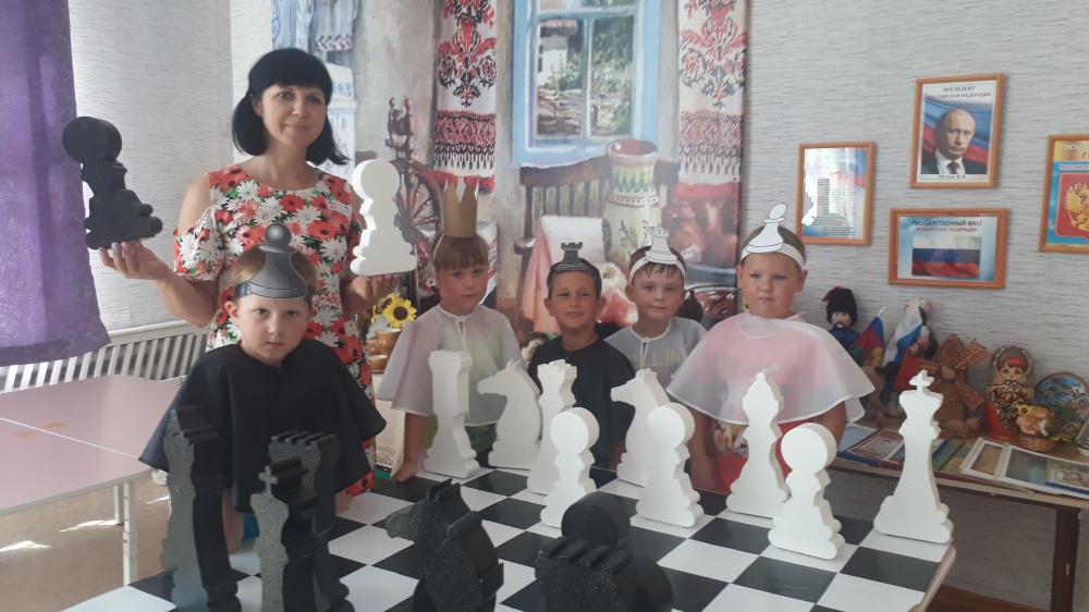 Путешествие в шахматное королевство!