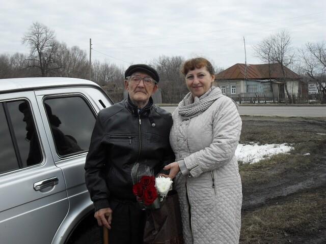 В канун дня защитника отечества, в преддверии празднования 75 годовщины Победы Великой Отечественной войны, были поздравлены с праздником участники войны