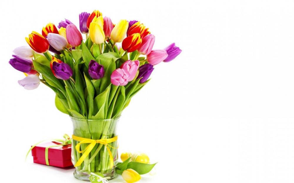 Поздравление с международным женским Днём 8 Марта!