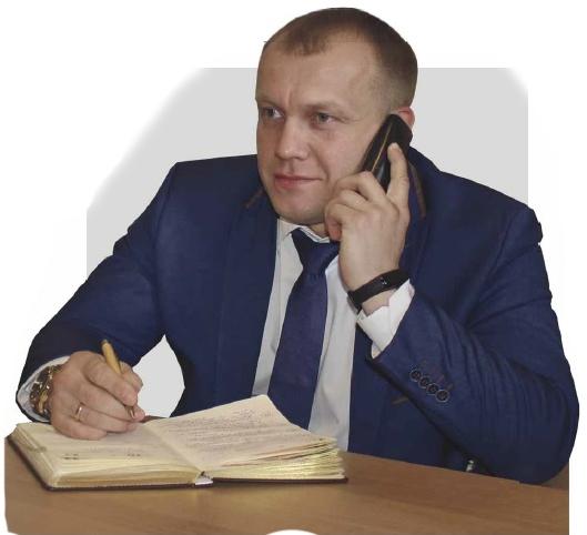 Глава администрации района П.В.Чибисов  пообщался с терновцами по прямой линии