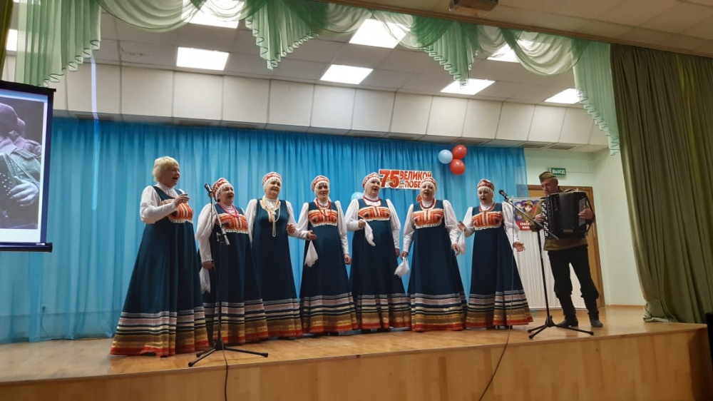 25 февраля в школе с.Екатериновка прошёл отчётный концерт творческих коллективов Екатериновского СДК