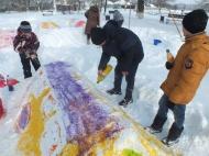 """Детский праздник """"Снежные забавы"""" в Осетровском Центре Культуры"""