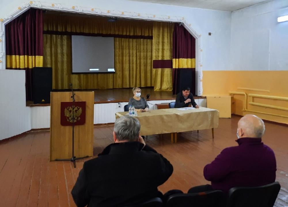 3 февраля  состоялась  расширенная сессия Совета народных депутатов Залуженского сельского поселения