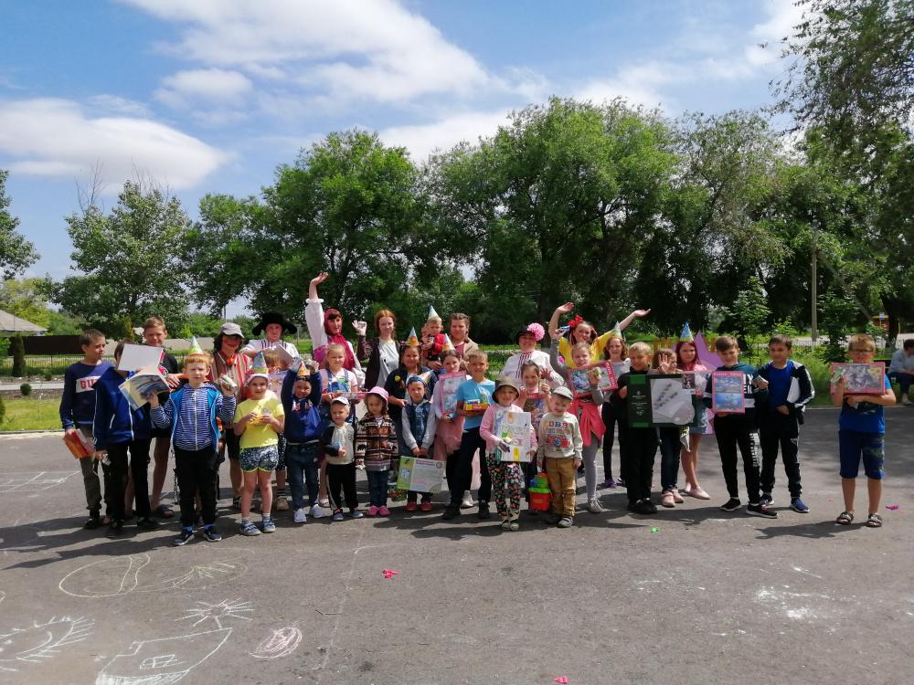 1 июня  состоялся праздник посвященный  дню защиты детей