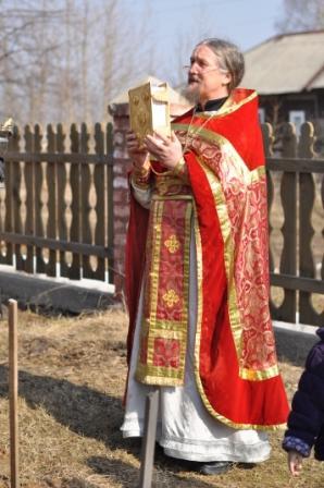 Праздничная литургия в День Победы с. Матвеево
