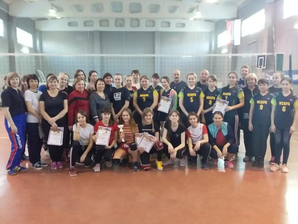 Женский турнир по волейболу