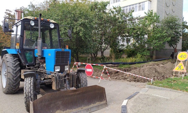 В ходе подготовки к ОЗП ведутся ремонтные работы
