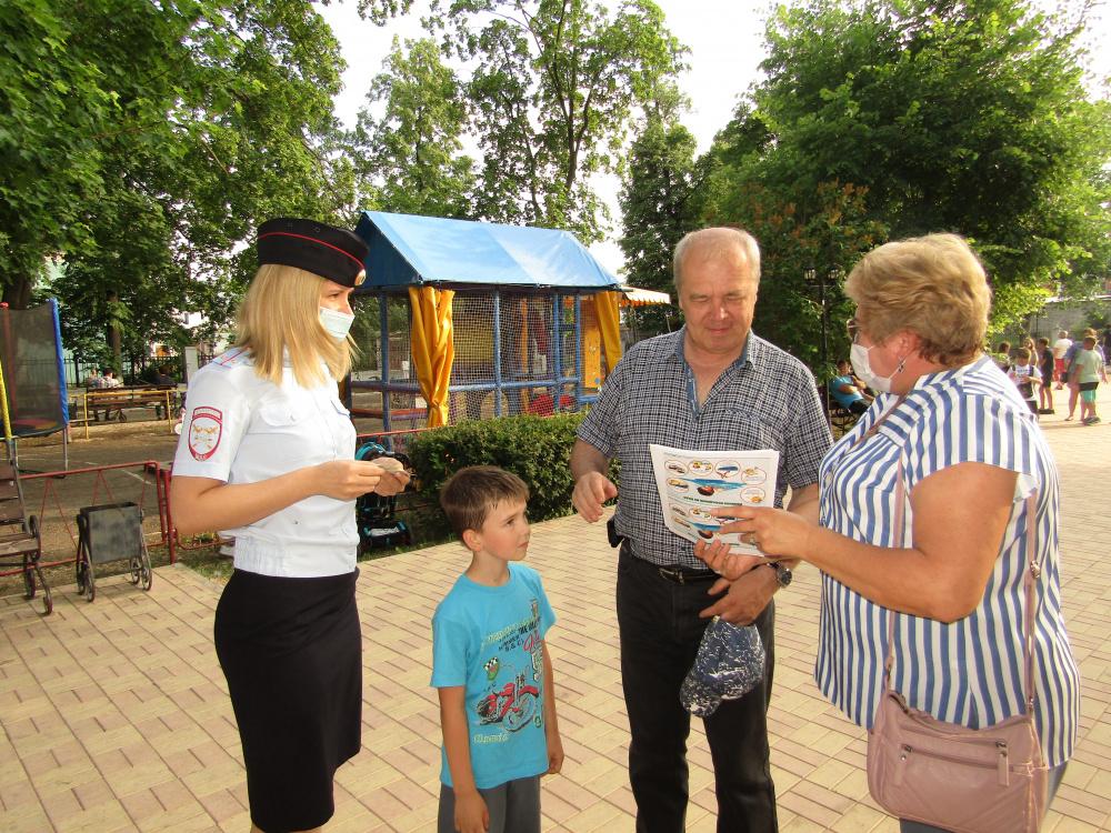 В Самарской области полицейские и общественники провели профилактическое мероприятие рамках «Каникул с Общественным советом»