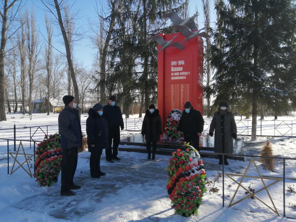 В поселке Вознесеновка прошла  Всероссийская акция «Защитим память героев»