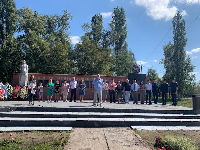 21 августа 2019 года  в селе Каширское прошел День памяти Героя Советского Союза Ильи Маслова