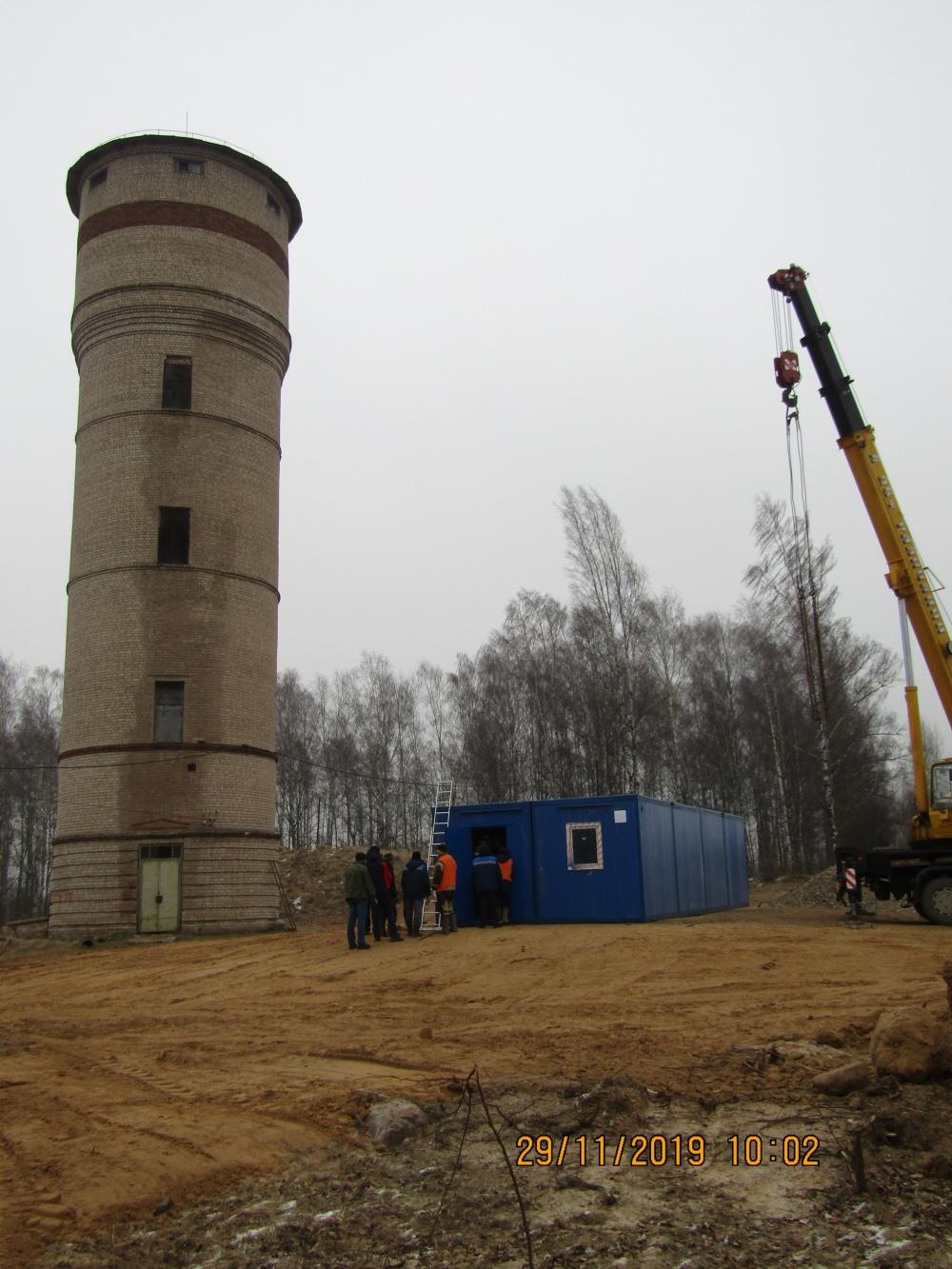 Начат монтаж станции водоподготовки!