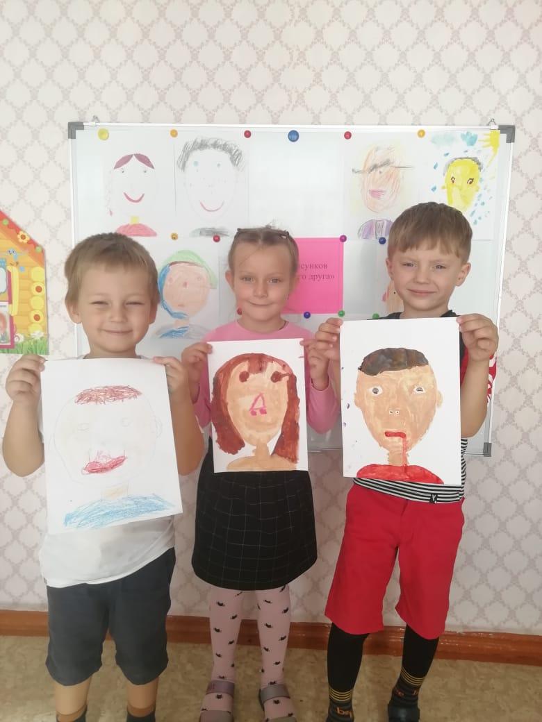 Выставка рисунков «Портрет моего друга».