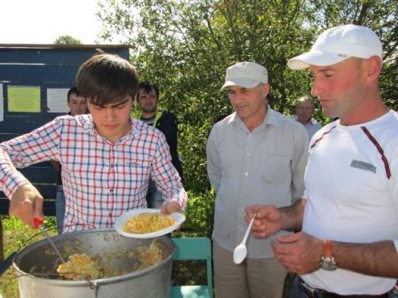 Плов на день села Матвеево