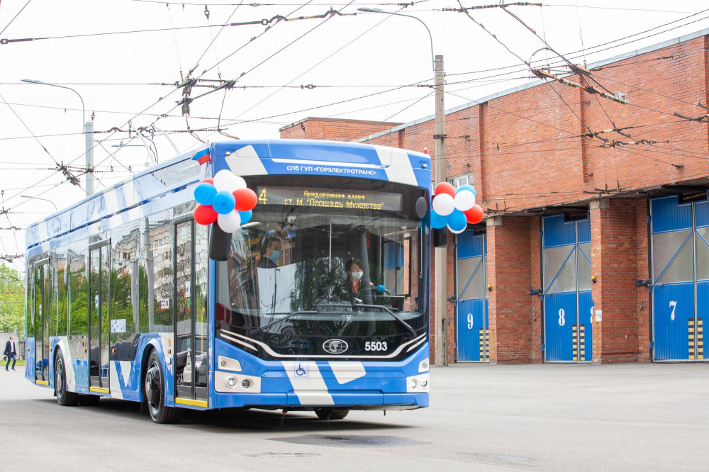 13 апреля: День рождения троллейбуса