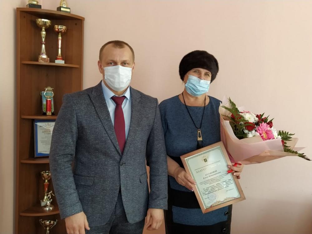 Глава администрации вручил министерские награды работникам сельскохозяйственной отрасли