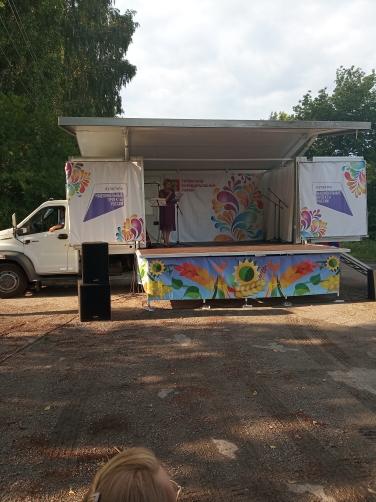 """1 июля состоялся концерт """"Автоклуба"""" в п. Участок № 12"""