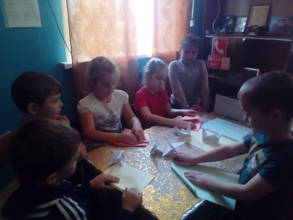 День Оригами в Верхнетишанском СДК