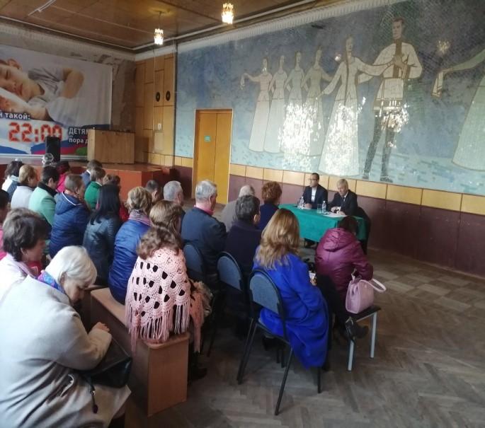 Сход граждан 14.11.2019 в х. Гречаная Балка