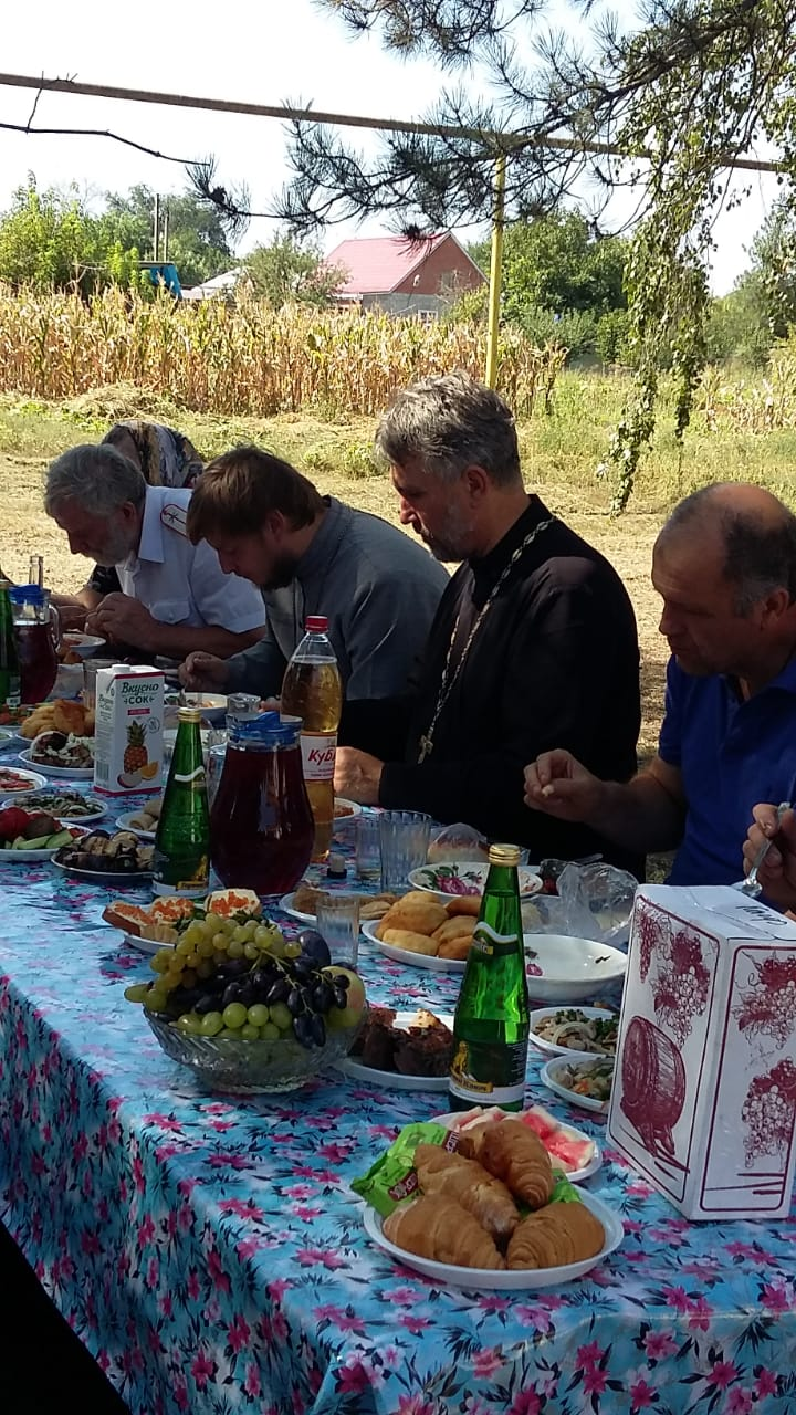 28 августа 2019 года  в Глебовском сельском поселении прошел большой праздник -Успения Пресвятой Владычицы нашей Богородицы и Приснодевы  Марии